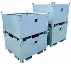 Picture of Stackable Crane Storage Bin 0.4m3 2000kg