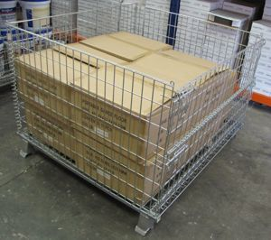 Picture of Pallet Cage Wire Mesh Bulk Purchase
